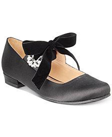 Badgley Mischka Marina Grommet Dress Shoes, Little & Big Girls