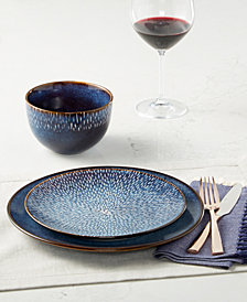 Laurie Gates Matisse Round Blue Dinnerware Collection