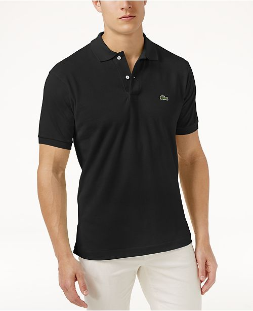 ea1a3b68754ae Lacoste Men s Slim-Fit Polo   Reviews - Polos - Men - Macy s