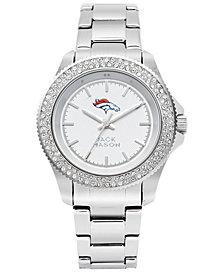 Jack Mason Women's Denver Broncos Glitz Sport Bracelet Watch