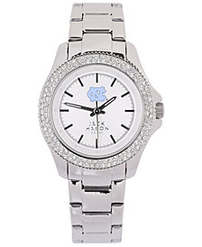 Jack Mason Women's North Carolina Tar Heels Glitz Sport Bracelet Watch