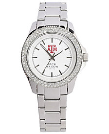 Jack Mason Women's Texas A&M Aggies Glitz Sport Bracelet Watch