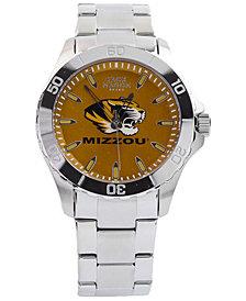 Jack Mason Men's Missouri Tigers Color Sport Bracelet Watch