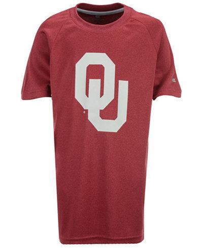 Colosseum Oklahoma Sooners Kramer Raglan T-Shirt, Big Boys (8-20)