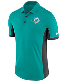 Nike Men's Miami Dolphins Evergreen Polo