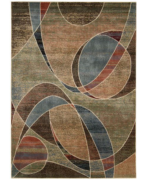 "Nourison CLOSEOUT! Area Rug,  Expressions XP07 Multi  5' 3"" x 7' 5"""