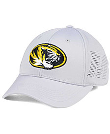 Top of the World Missouri Tigers Light Gray Rails Flex Cap