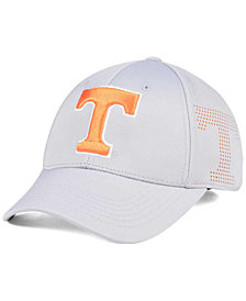 Top of the World Tennessee Volunteers Light Gray Rails Flex Cap