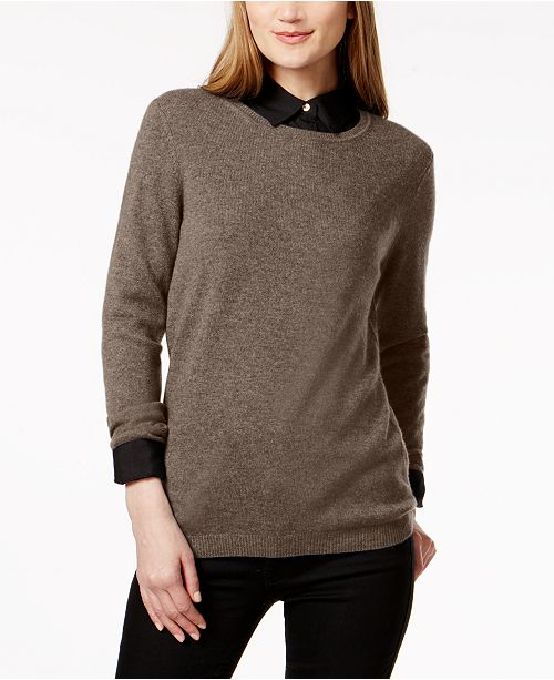 09063347417 ... Charter Club Cashmere Sweater
