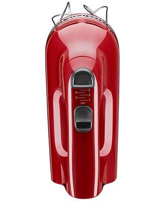 Kitchenaid Hand Mixer 5 Speed kitchenaid khm512 5 speed hand mixer - electrics - kitchen - macy's