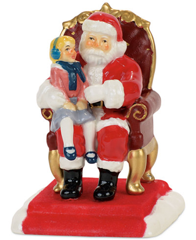 Department 56 Pictures With Santa Figurine