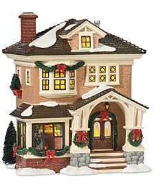 Snow Village Christmas At Grandma's