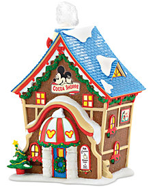 Department 56 Disney Village Mickey's Cocoa Shoppe