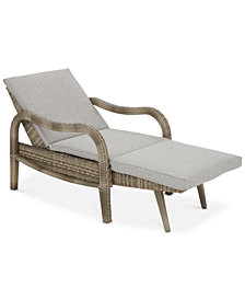 Danielle Outdoor Convertible Lounge, Quick Ship