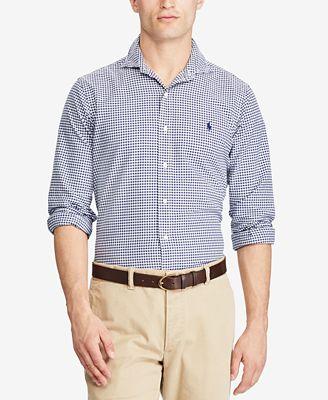 Polo Ralph Lauren Men's Classic-Fit Cotton Oxford Shirt
