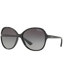 Sunglass Hut Collection Polarized Polarized Sunglasses , HU2001 60