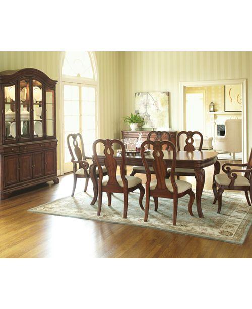 Macys Dining Room: Furniture Bordeaux 9-Piece Dining Room Furniture Set