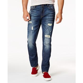 American Rag Men's Ripped Stretch Jeans