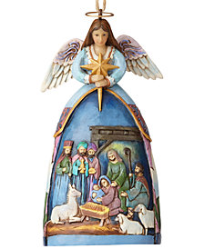 Jim Shore Nativity Angel Ornament