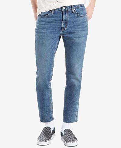 Levi's® Men's 511™ Slim-Fit Cropped Raw-Hem Jeans
