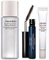 Receive a FREE 3pc skincare gift with $75 Shiseido purchase