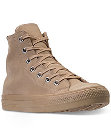 Converse Women's Chuck Taylor Plush Suede High-Top Casual Sneakers from Finish Line