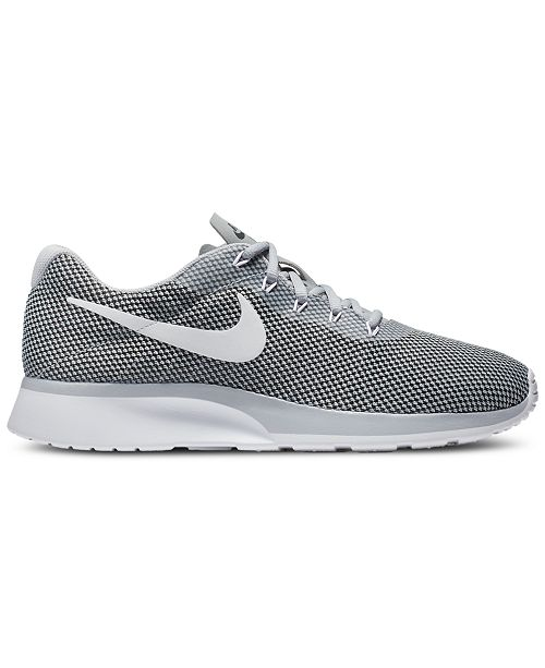 f6b9b76e6f1 Nike Men s Tanjun Racer Casual Sneakers from Finish Line ...