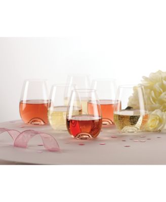 Tuscany Stemless Wine Glasses 6 Piece Value Set