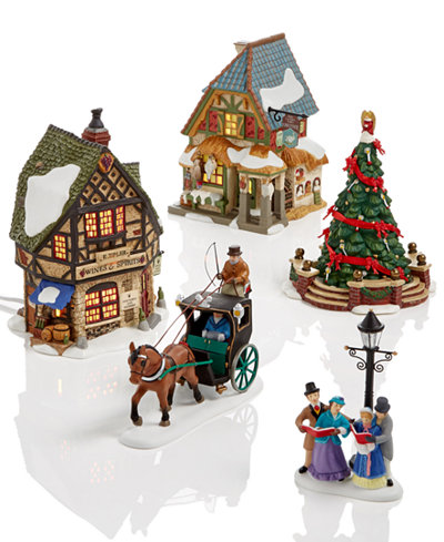 Department 56 Dickens Village Collection Holiday Lane