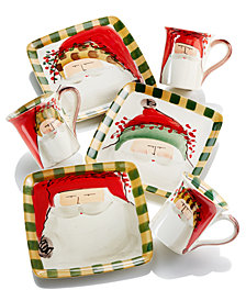 Vietri Old St. Nick Holiday Collection