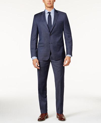 Slim Fit Mens Suits: Blue, Black, Gray - Macy's