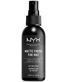 NYX Professional Makeup Makeup Setting Spray - Matte Finish, 2.02 oz
