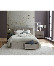 Tribeca Storage Bedroom 3-Pc. Set (Queen Bed, Dresser & Nightstand), Created for Macy's