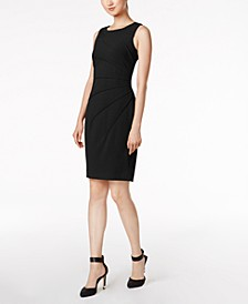 Sunburst Sheath Dress, Regular & Petite Sizes
