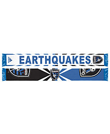 adidas San Jose Earthquakes Jacquard Wordmark Scarf
