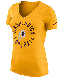 Nike Women's Washington Redskins Dri-Fit Touch T-Shirt