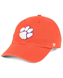 '47 Brand Clemson Tigers CLEAN UP Cap