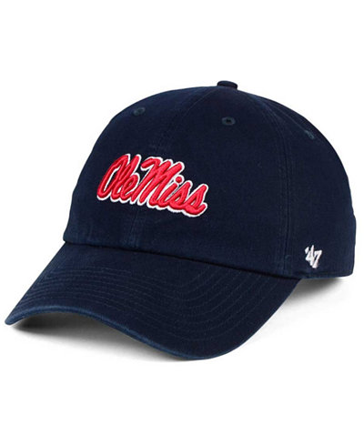 '47 Brand Ole Miss Rebels CLEAN UP Cap