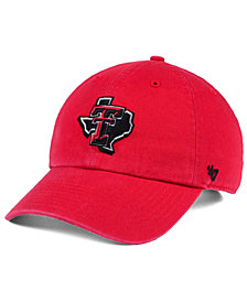 '47 Brand Texas Tech Red Raiders CLEAN UP Cap
