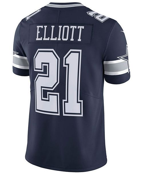 e570ac31f ... Nike Men's Ezekiel Elliott Dallas Cowboys Vapor Untouchable Limited  Jersey ...