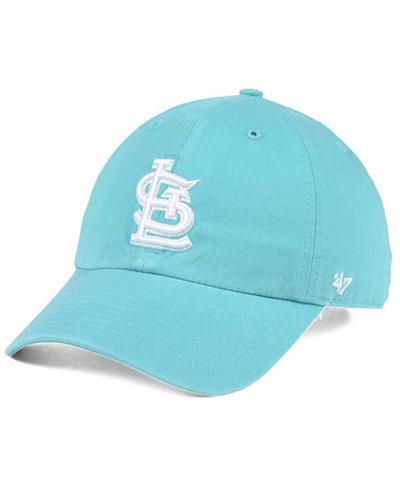 '47 Brand St. Louis Cardinals Lagoon CLEAN UP Cap