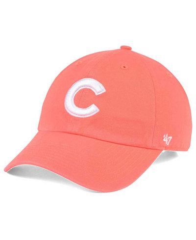 '47 Brand Chicago Cubs Grapefruit CLEAN UP Cap