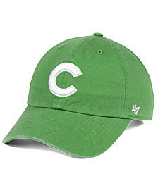 '47 Brand Chicago Cubs Fatigue Green CLEAN UP Cap