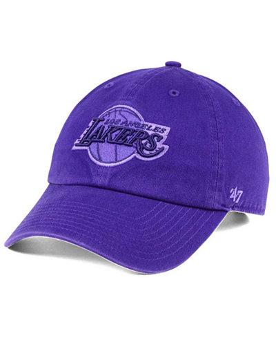 '47 Brand Los Angeles Lakers Triple Rush CLEAN UP Cap