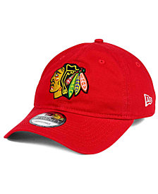 New Era Chicago Blackhawks Relaxed 9TWENTY Strapback Cap