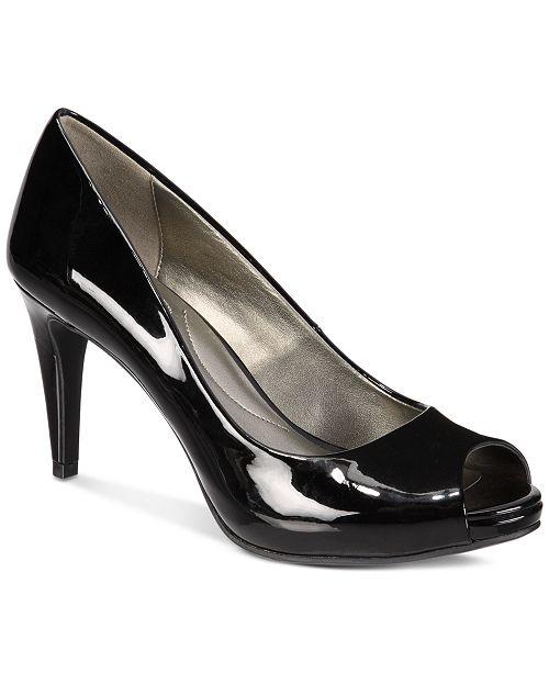 55f9b9dd9a6 Bandolino Rainaa Peep-Toe Pumps   Reviews - Pumps - Shoes - Macy s