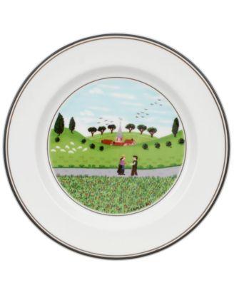 Dinnerware, Design Naif Bread and Butter Plate Boy & Girl