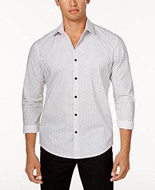 Alfani Men's Donovan Geometric Print Shirt, Created for Macy's