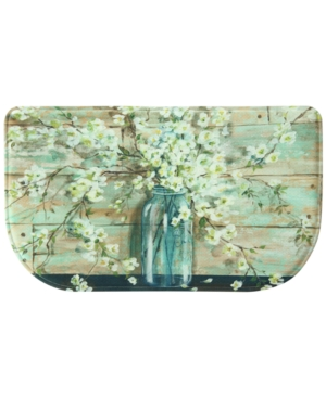 Bacova Blossoms in Jar 18 x 30 Slice Accent Rug Bedding