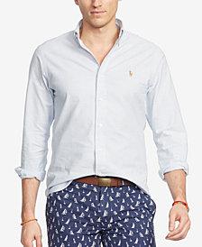Polo Ralph Lauren Slim-Fit Striped Stretch-Oxford Shirt